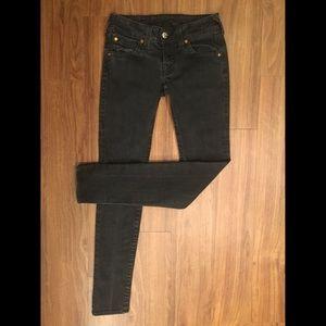 Authentic True Religion Black Denim Jeans